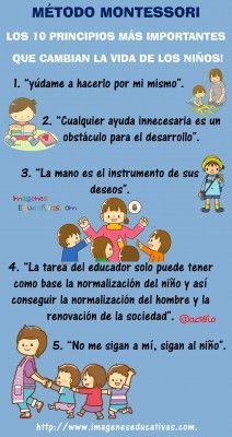 Método Montessori ¡los 10 principios más importantes que cambian la vida de los niños!
