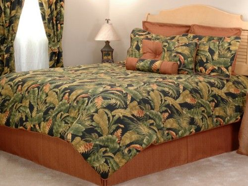 1000 Images About Tropical Themed Bedding On Pinterest