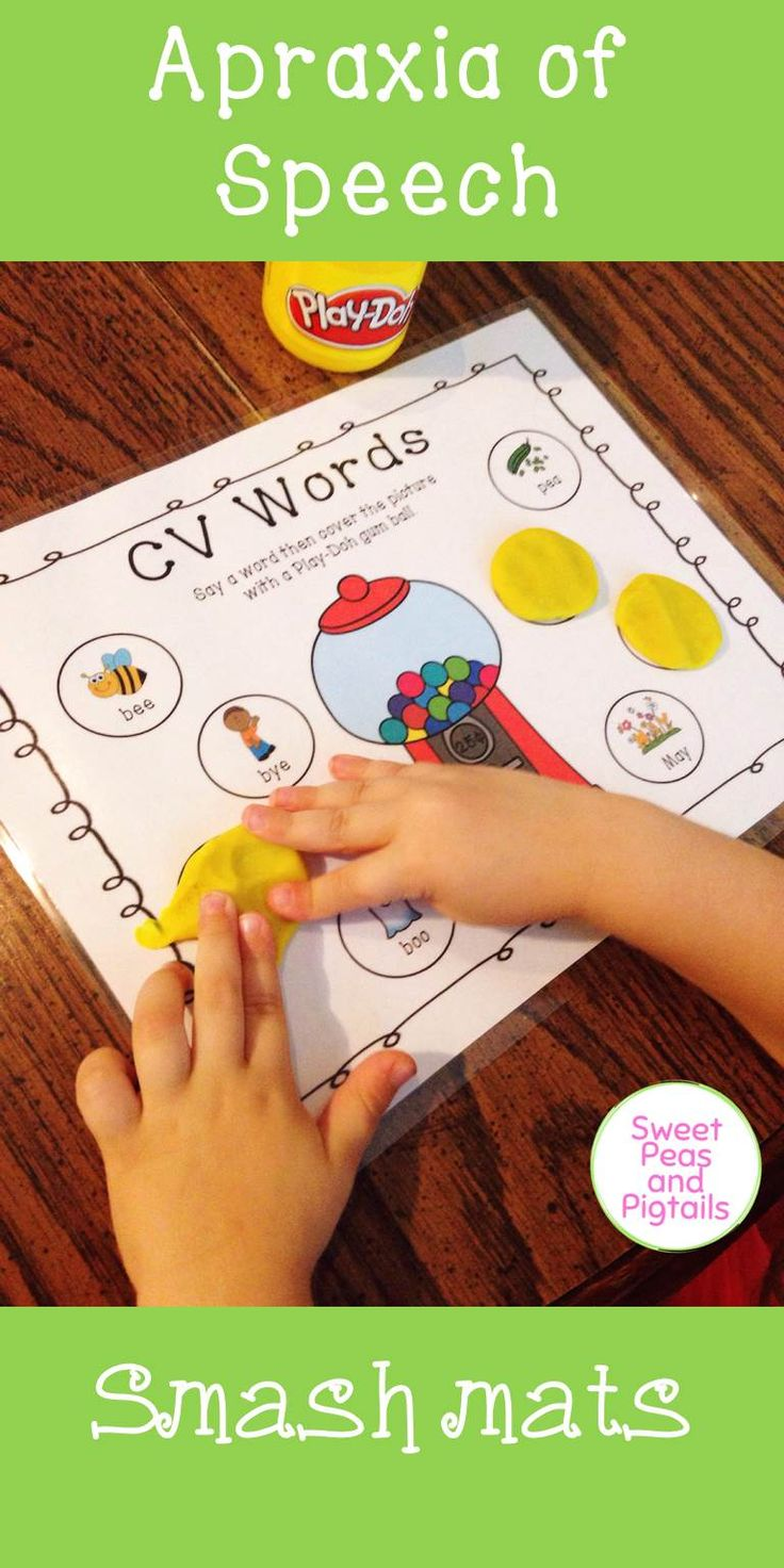 $ Target Apraxia of Speech with these adorable gum ball smash mats! Includes 18 total smash mats, with 8 words per mat. Targets CV, VC, CVC, and CVCV words.