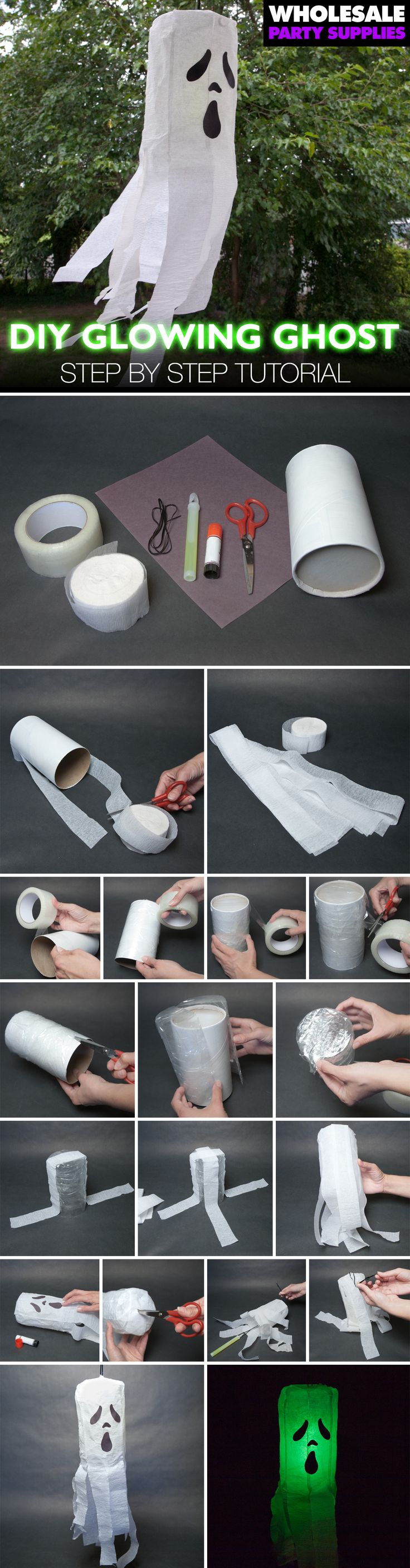 Best 20 ghost decoration ideas on pinterest diy ghost for Make your own halloween decorations