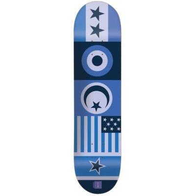 "Chocolate Skateboard Deck - Flags Berle 8.125"""
