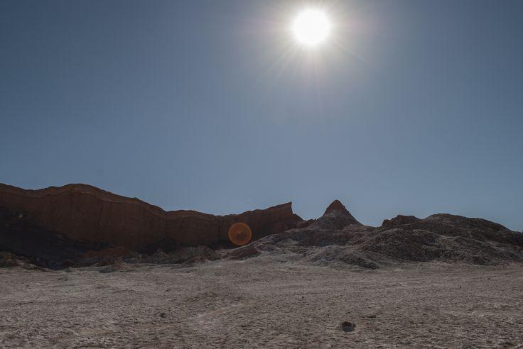 Recorrido Valle de la Luna en las cercanías de San Pedro de Atacama.