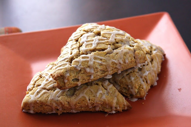 Pumpkin scones | Looks Good :) | Pinterest