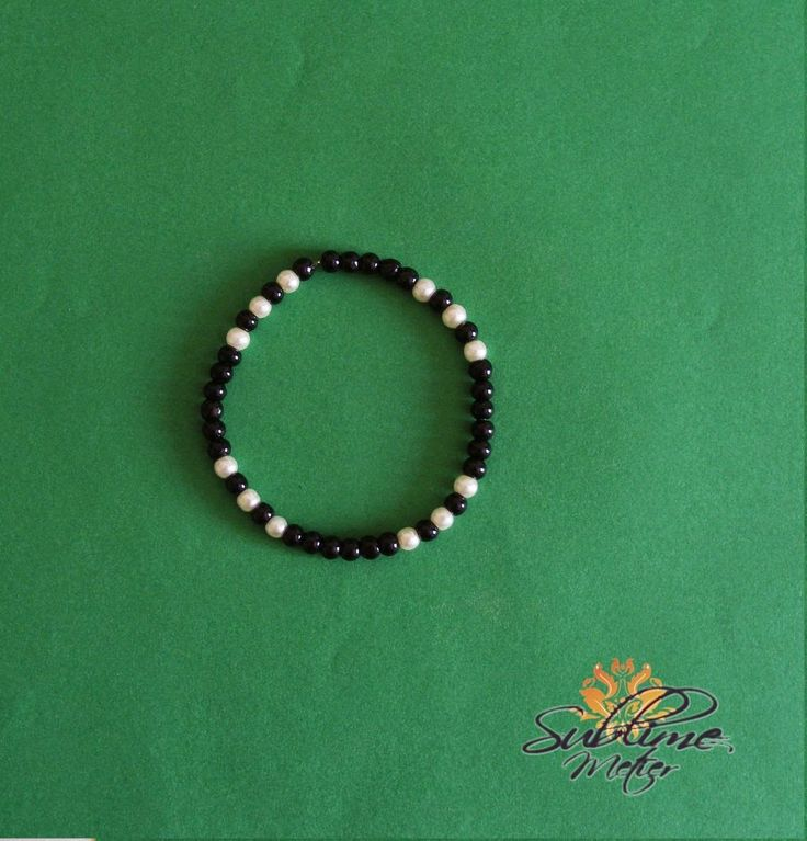 Sublime Metier: Bratara Black&White