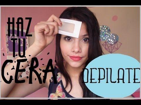 ¡¡DEPILATE!! HAZ TU PROPIA CERA♥ - YouTube