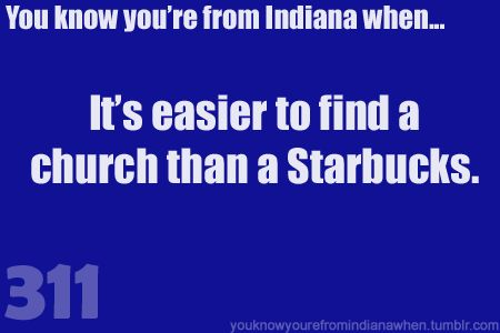 im not exactly sure this is true..but it was pretty funny. it should say you know you're from utah when...haha