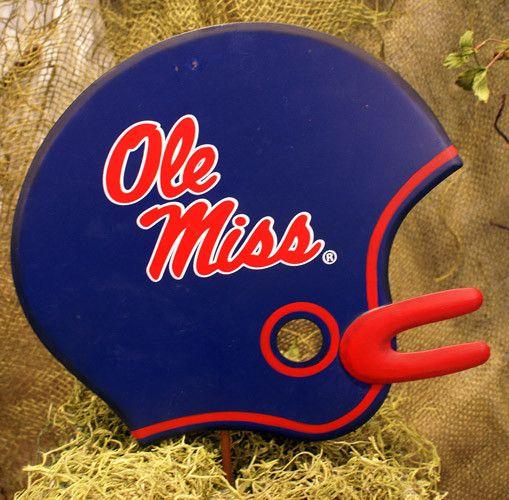 Football Helmet Decoration - Ole Miss