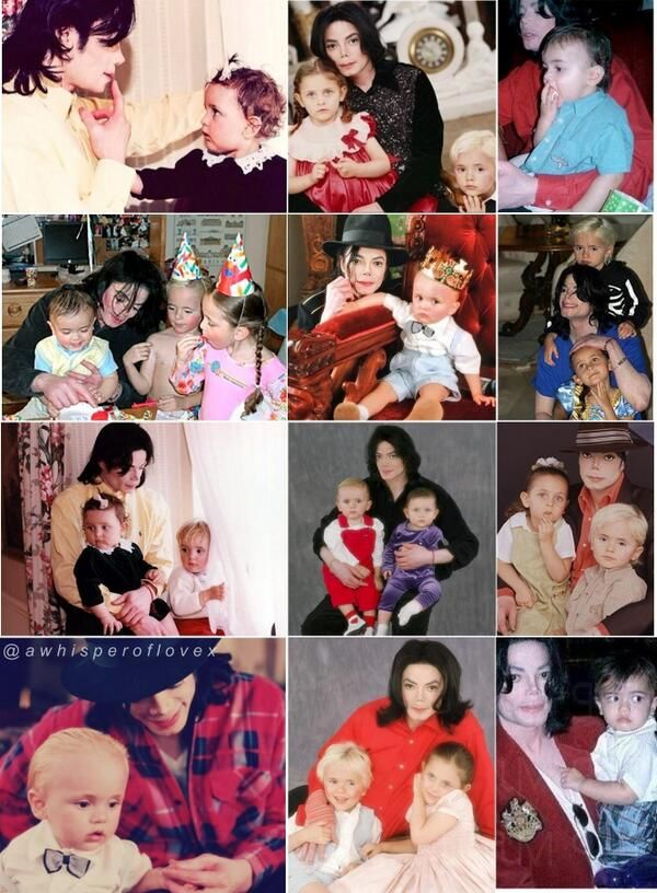 """I love my children very much. I'm proud to be their dad."" ~ Michael Jackson ❤"