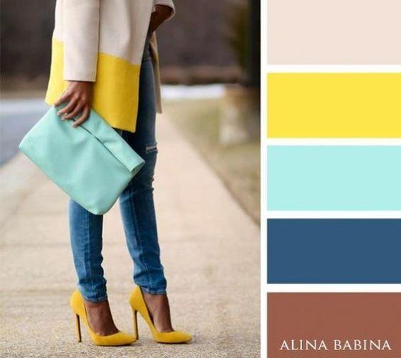 Популярные и яркие цветовые сочетания! 5