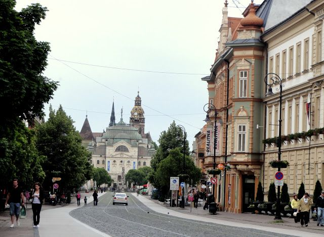 Kosice, Slovakia Part Two: More Pretty Architecture, Churches and Food