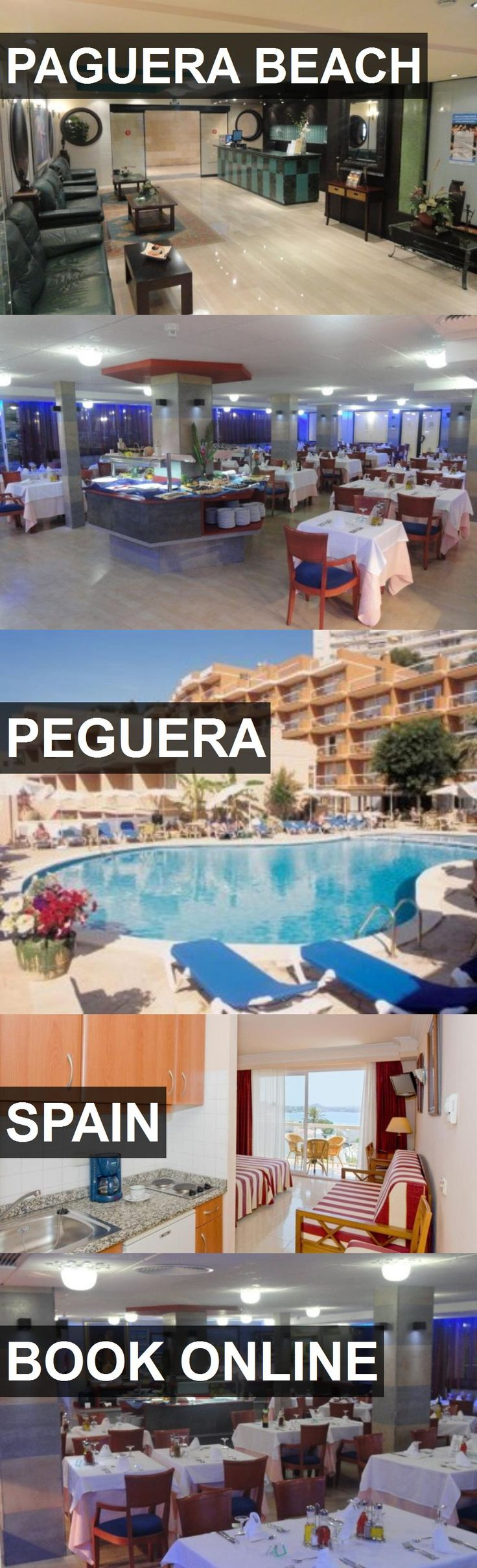 Hotel PAGUERA BEACH in Peguera, Spain. For more information, photos, reviews and best prices please follow the link. #Spain #Peguera #travel #vacation #hotel