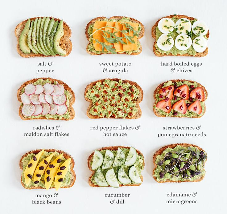 on Avocado Toast - in case you needed more reasons to eat avocados ...