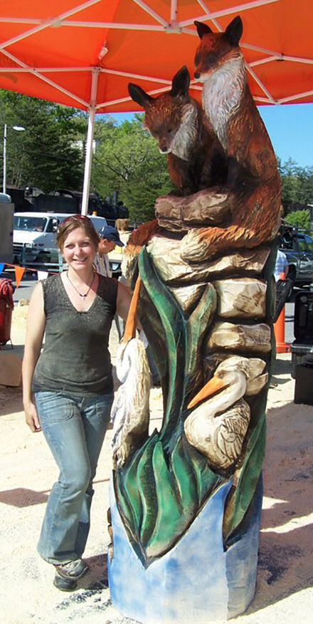 Best images about carved trees on pinterest chainsaw