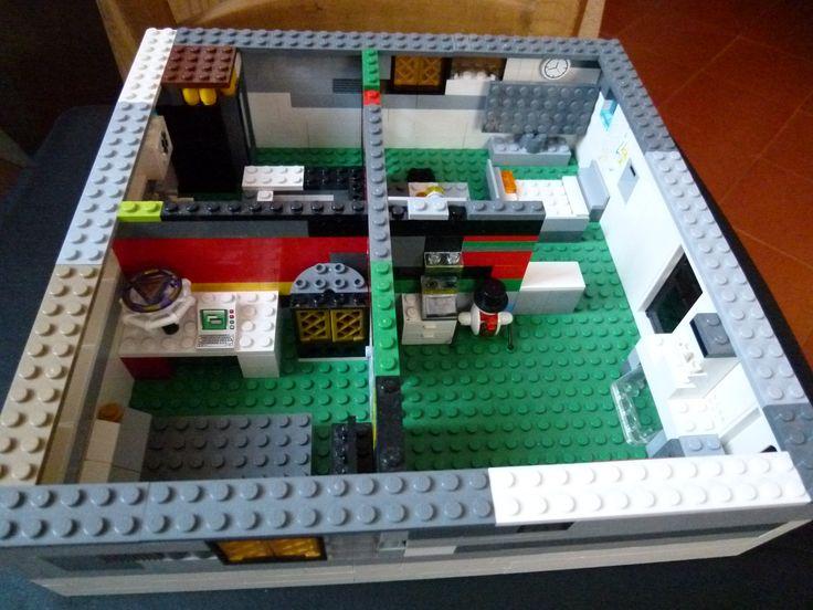 Lego Gio casa futuristica
