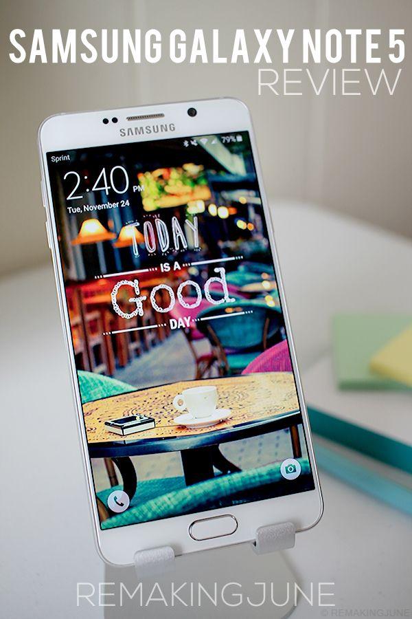 REVIEW: samsung galaxy note 5 - #SprintMom #IC #ad