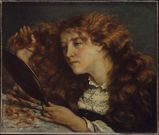 Gustave Courbet – Jo, La Belle Irlandaise, 1865/66; Oil on canvas, 22x26 in   The Metropolitan Museum of Art