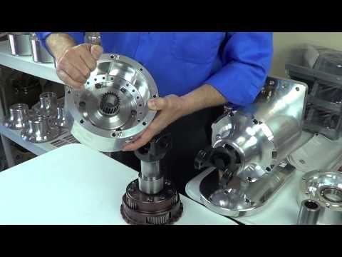 EV-Transmission / Torque Box Power Flow