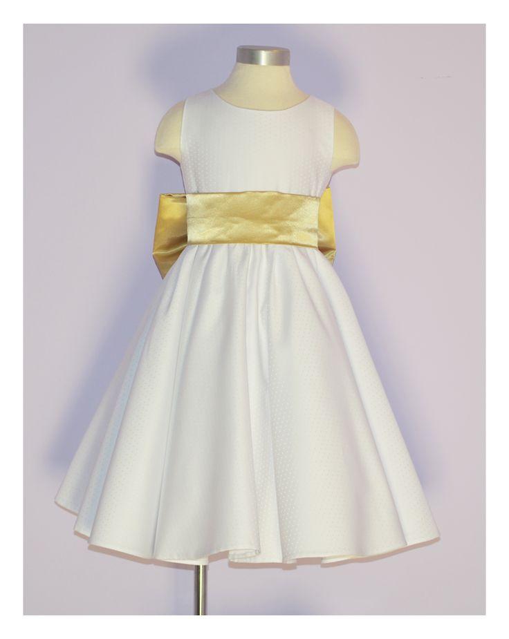 vestido brillantina falda plato www.petitsrois.com