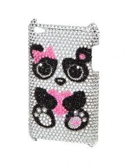 Panda Bling Ipod 4 Case | Cases | Electronics | Shop Justice $18 OMW SO CUTE!