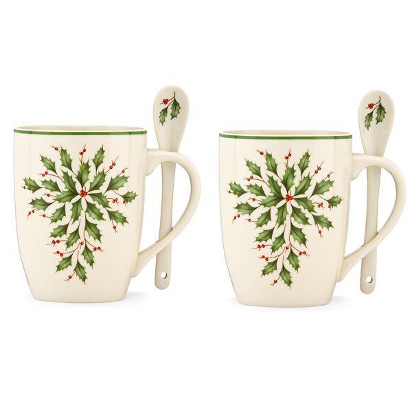 Holiday® Cocoa 4-pc Mug Set