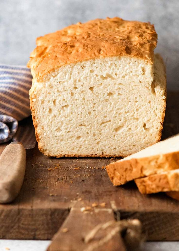 Sandwich Bread WITHOUT Yeast! (Dead easy)   Recipe in 2020 ...