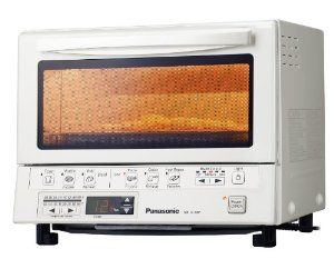 "Panasonic ""FlashXpress"" Technology #Toaster Oven featuring 1300Watt double ""Infrared Light"" for cooking , 6 cooking menus with illustrated preset buttons, (#Toast, #Waffles, #Bagels), Frozen Food (#Pizza, Hash Browns) and Reheat (Rolls, #Breads, Leftovers), Digital Timer (up to 25 minutes and Temperature Settings...read more at http://online-super-store.net/amazone/products.php?t=onlinesupe0c3-20&a=B00E07D76S"