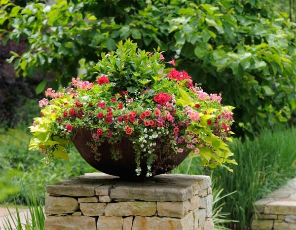 Read this post on steps to creating an outstanding garden container for some professional advice on how to customize your garden containers.