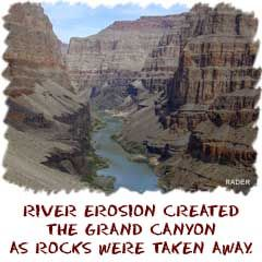 EROSION Erosion is the process that breaks things down. As far as we're concerned, erosion is the breakdown of the continents and the land around you.