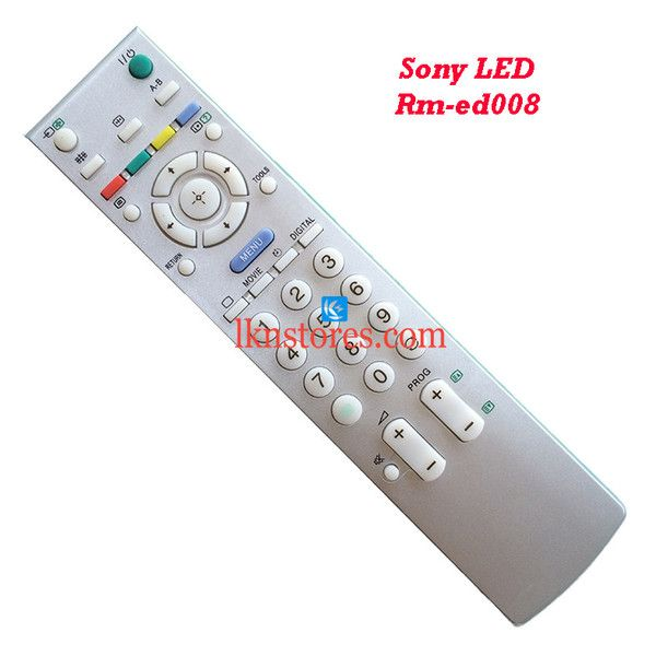 Buy generic remote suitable for Sony LED Tv Remote RM ED008 at lowest price from LKNstores.com. Online's Prestigious buyers store.