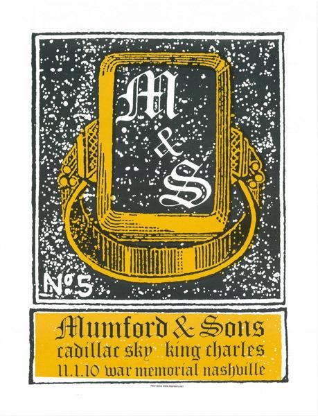 Mumford & Sons by Print Mafia