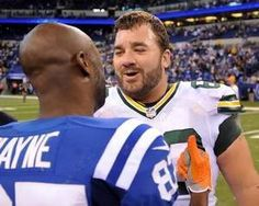 | Former Colts center   congratulated old teammate and ...