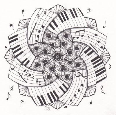 52 best Music Dippity Doodles images on Pinterest Print coloring - fresh music mandala coloring pages