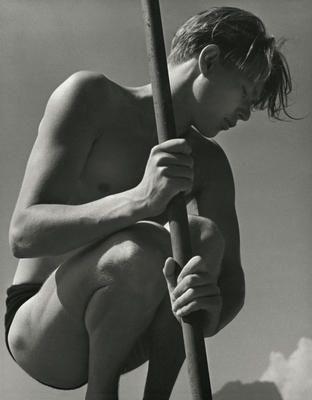 Ritti With Fishing Rod | 1937