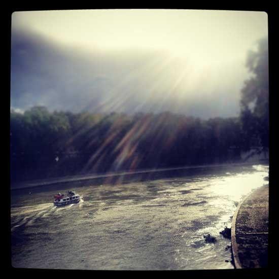 Scatto del fiume Tevere per Romit.it