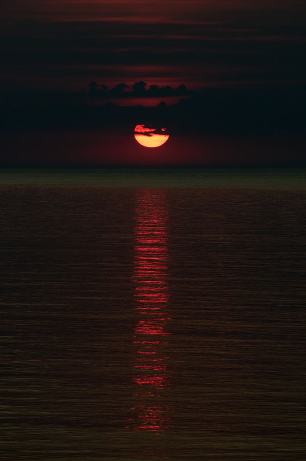 Sunset - Vieste, Italy