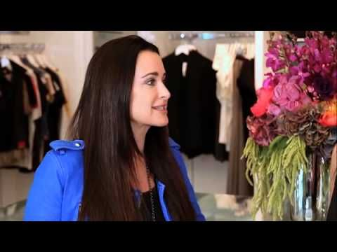 RHOBH Star Kyle Richards Takes Us on a Tour of Her New Store - Celebrity Interview - YouTube