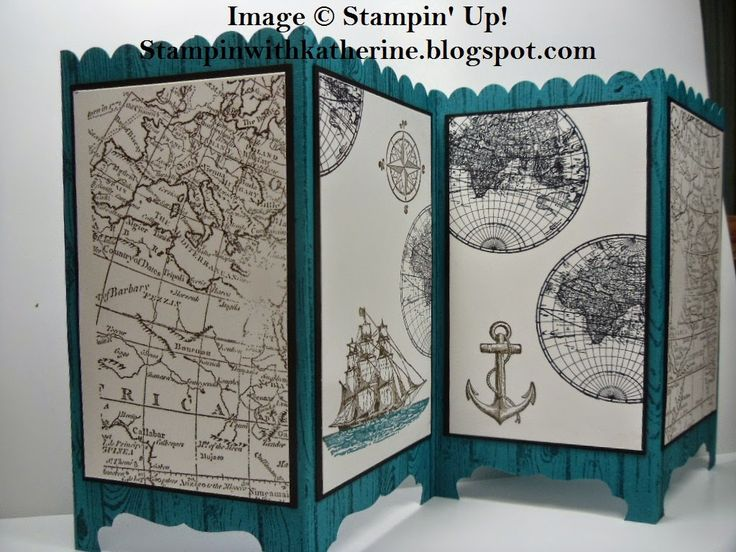 Stampin with Katherine: Stampin' Up! Screen card tutorial
