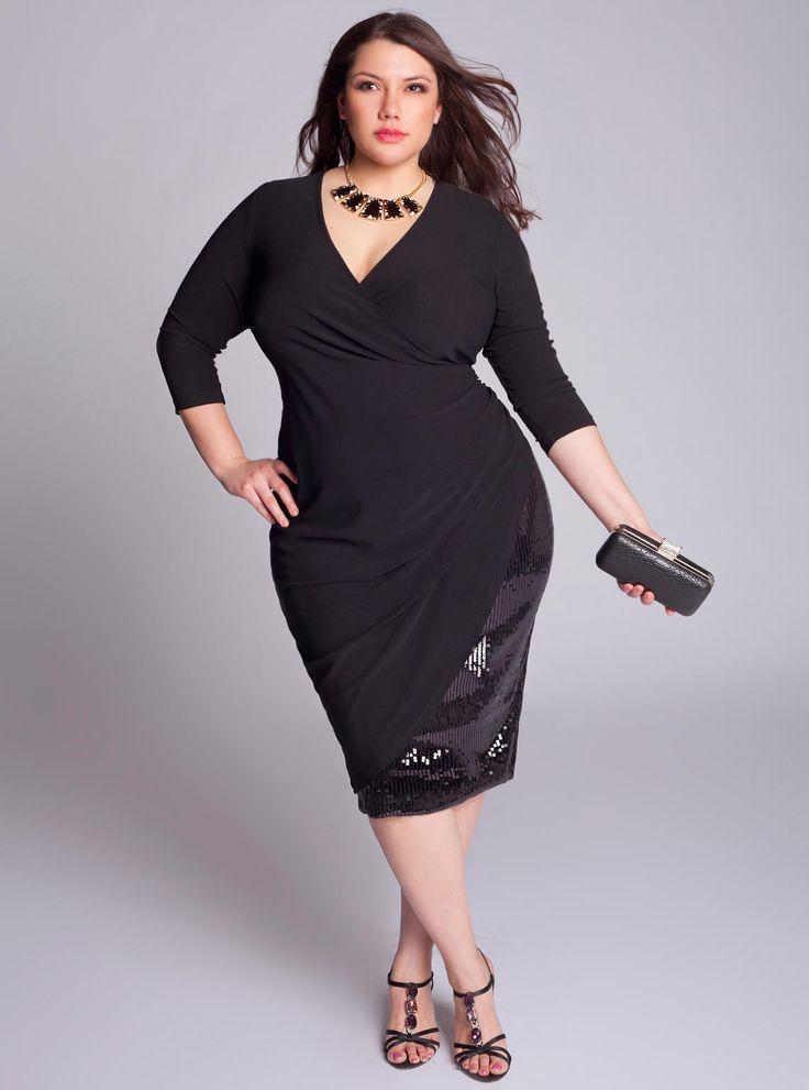 IGIGI Plus Size Marquette Dress