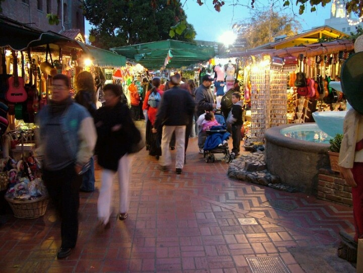 "Olvera Street is in the oldest part of Downtown Los Angeles, California, and is part of the El Pueblo de Los Angeles Historic Monument. Many Latinos refer to it as ""La Placita Olvera."" Since 1911 it was described as Sonora Town... ~D~"