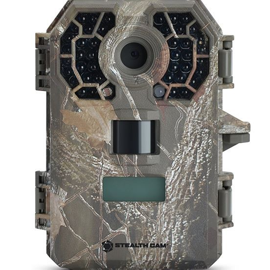 Packed with features, the Stealth Cam G42NG 10MP Trail Camera captures high-quality 10MP pictures and five- to 180-second of HD videos with audio. 42 black IR emitters reach up to 100 ft. and won't spook nighttime game. Retina low-light-sensitivity technology catches light and disperses IR illumination to create a detailed, evenly lit scene. Matrix Blur Reduction takes crisp images of moving subjects in IR mode. Multi-Zone detection offers more accurate coverage, while the Reflex trigger…
