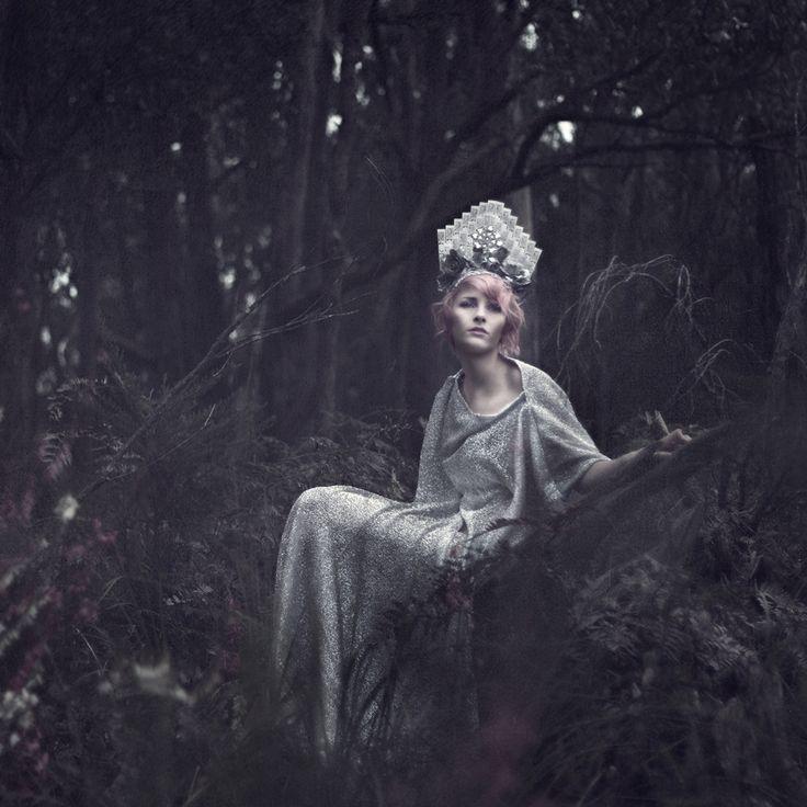 """Silver Songbird"" — Photographer: Melanie Jasmin Hair/Makeup: GorJess Model: Paquinx"