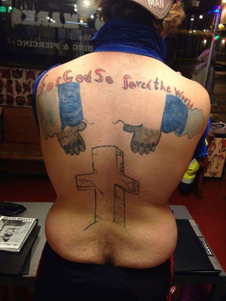 20 Really Bad Tattoo Choices