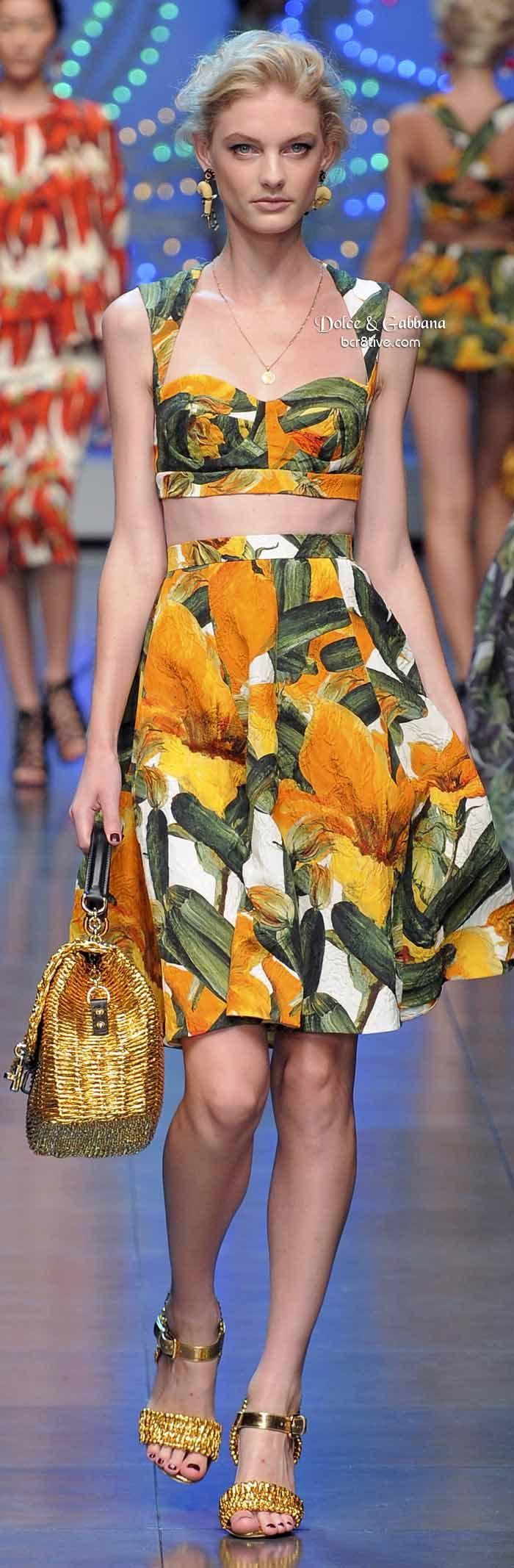 Dolce & Gabbana Brings the Bling 2014