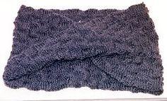 Moebius Scarf free knitting pattern