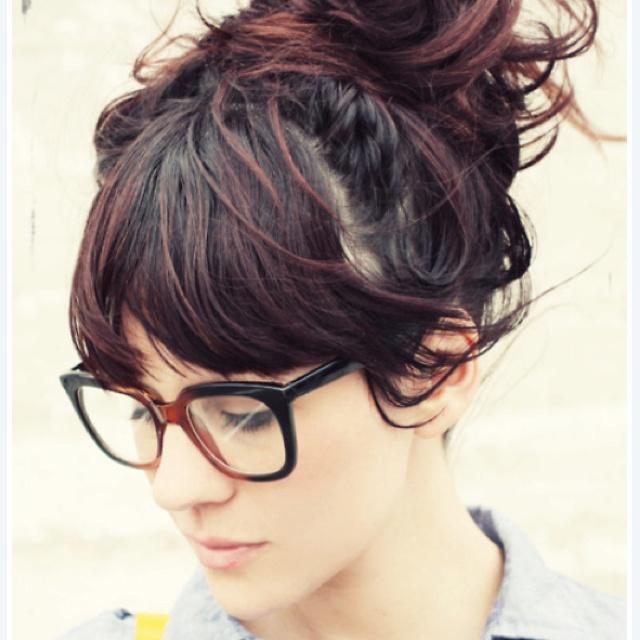 Cute glasses n hair