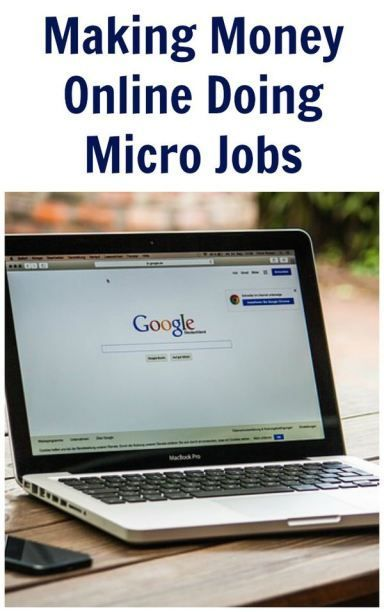 Making Money Online Doing Micro Jobs make money from home, make extra money #makemoney