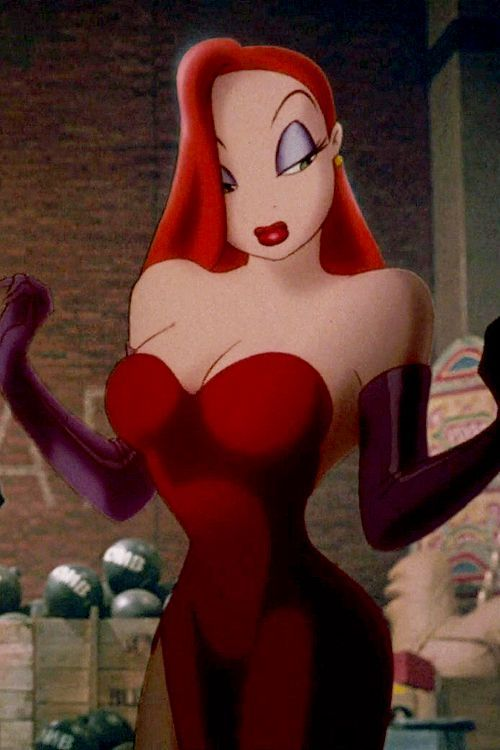 Jessica Rabbit from the movie Who framed Roger Rabbit.