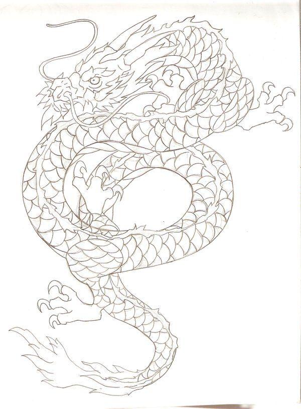 38 best Japanese Dragon Tattoo Head images on Pinterest