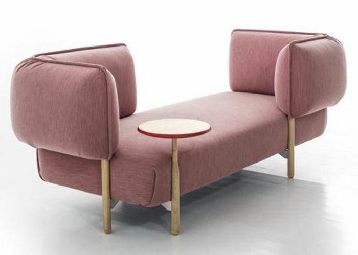 1000 id es sur le th me futon couch sur pinterest for Salon meridienne convertible