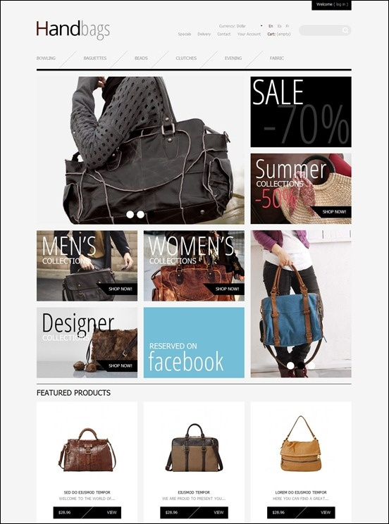 25+ Awesome Prestashop Themes for E-Commerce Sites